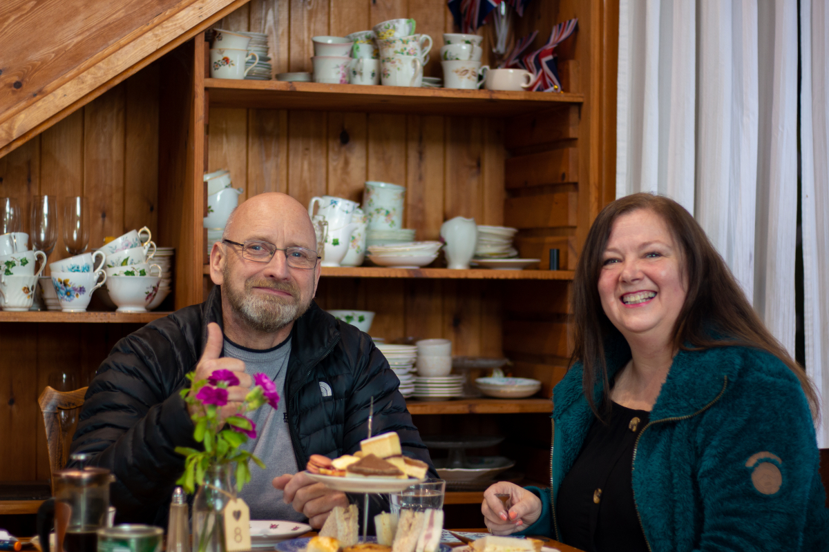 Afternoon Tea at Fir Tree Farm - 13-04-19-2